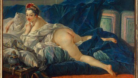 Das Aktbild des französischen Künstlers François Boucher
