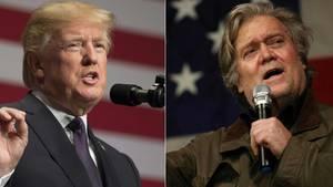 """""""Er hat seinen Verstand verloren"""": Donald Trumps beißende Abrechnung mit Steve Bannon"""