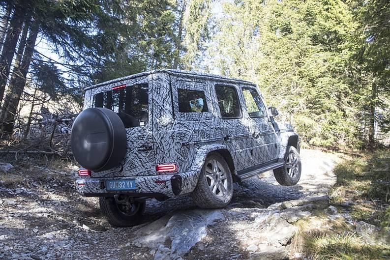 Mercedes G-Klasse 2018 - im Gelände nicht zu schlagen