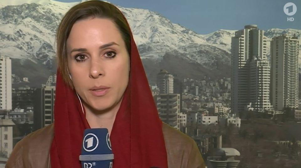 Natalie Amiri berichtet für die ARD aus Iran.