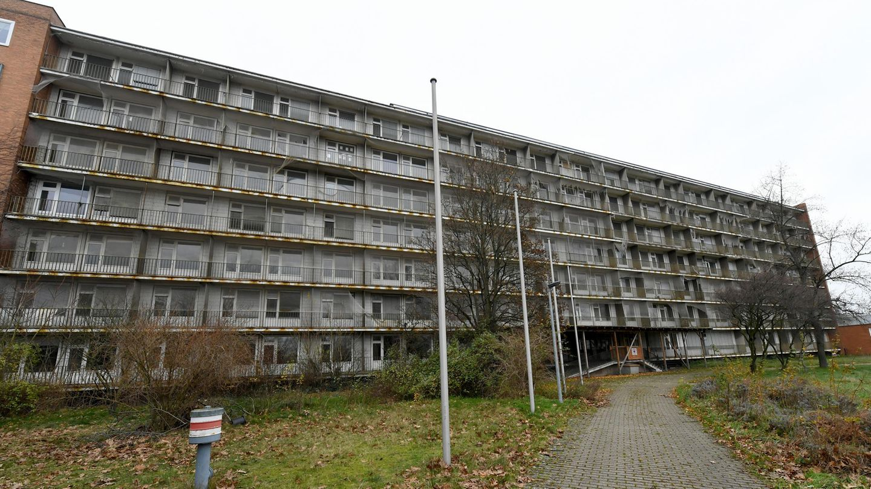 Leerstehende Flüchtlingsunterkunft in Hannover