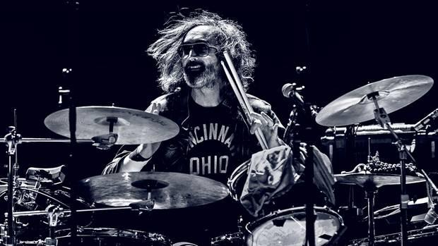 Auch laut ist erlaubt: der Schlagzeuger Bryan Devendorf von der US-Band The National im Oktober 2017