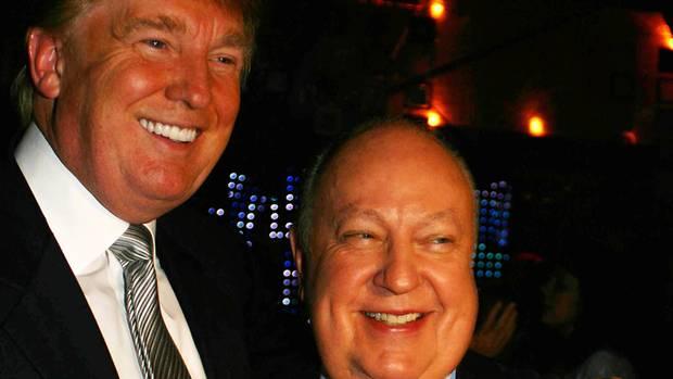 Donald Trump und Roger Ailes