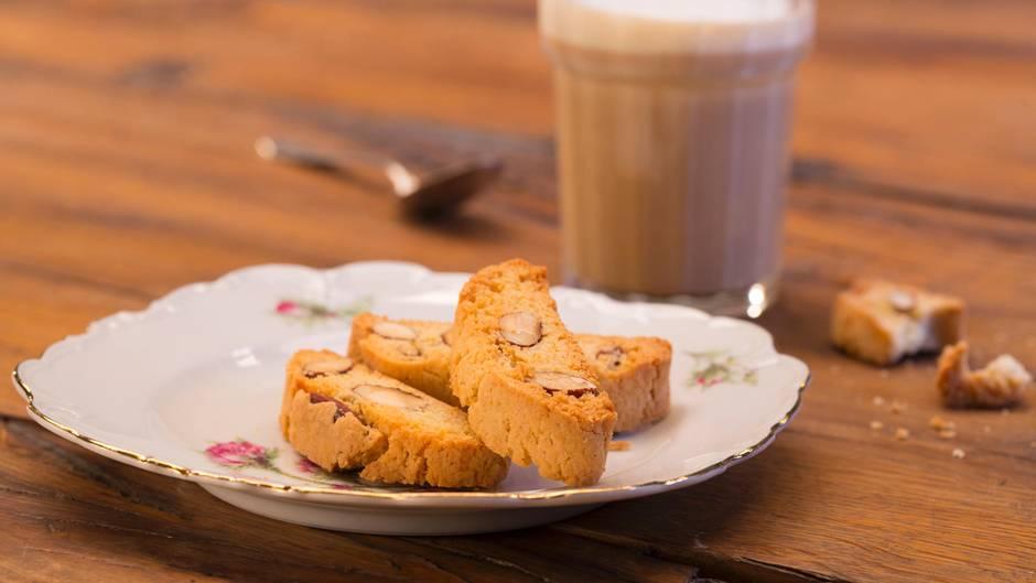 Kaffeegebäck: Cantuccini: So leicht gelingt der beste Freund des Espresso zuhause