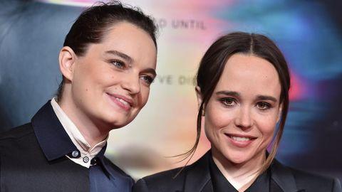 Emma Portner und Ellen Page