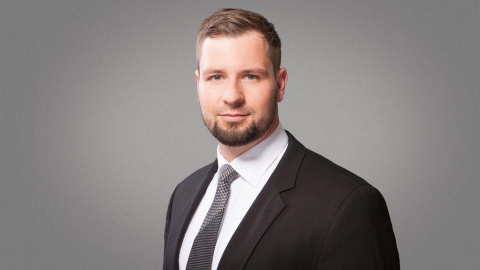 Der Berliner Rechtsanwalt und Strafverteidiger Benjamin Grunst