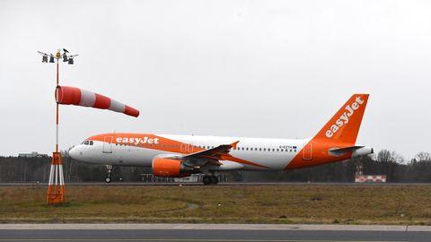 Easyjet startete seinen ersten innerdeutschen Flug von Tegel nach München