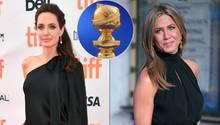 Angelina Jolie und Jennifer Aniston werden bei den Golden Globes aufeinander treffen