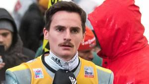 Skispringer Richard Freitag während der Vierschanzentournee in Innsbruck