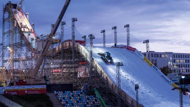 Kunstschnee aus Neuss – zwei Skihallenbesitzer haben ein Quasimonopol