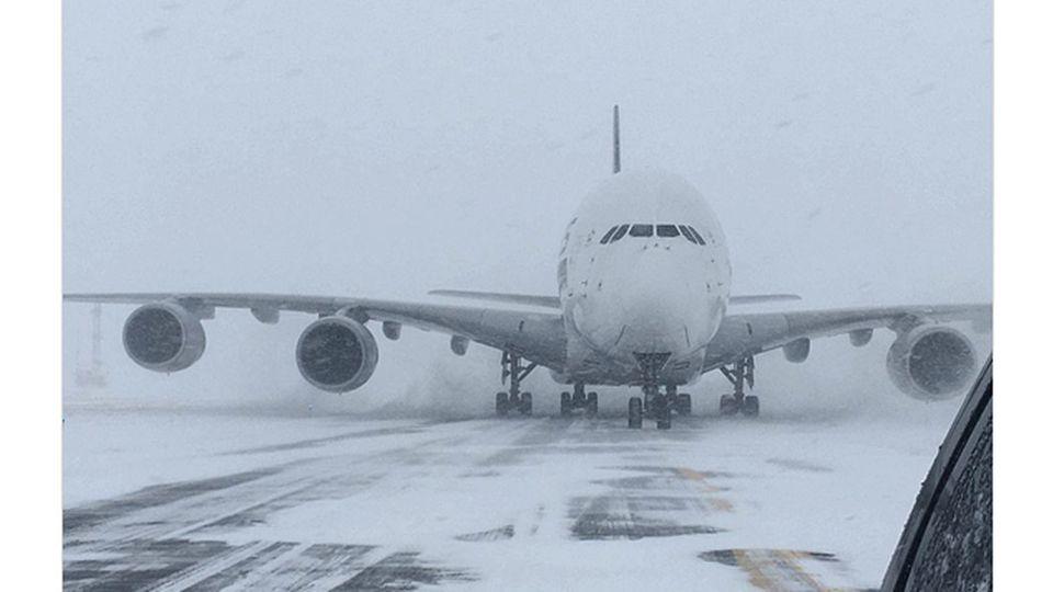A380 von Singapore Airlines