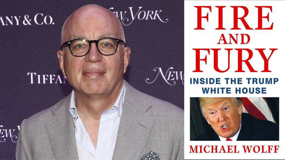 """Enthüllungsbuch über Trump: Das müssen Sie über """"Fire and Fury…"""" wissen"""