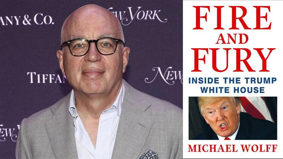 """""""Feuer und Zorn"""": Starautor Michael Wolff im stern-Gespräch: """"Der nächste Akt in Trumps Präsidentschaft wird blutig"""""""