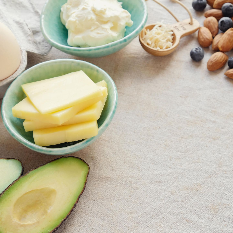 Lebensmittel, die auf der Ketodiät gegessen werden können