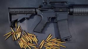 Alle Waffen im AR-15-Stil nutzen ein mittleres Kaliber.