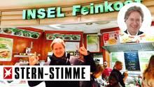 Frank Behrendt zu Gast bei Insel Feinkost