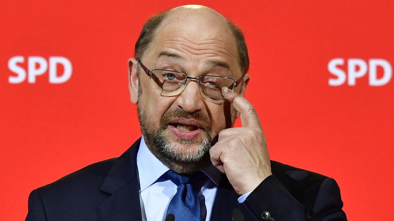Martin Schulz drückt aufs Auge - Geht Groko schief, ist meine Karriere zu Ende