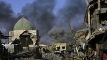 Islamischer Staat (IS): Kämpfe zwischen dem Islamischen Staat und der irakischen Armee in Mossul