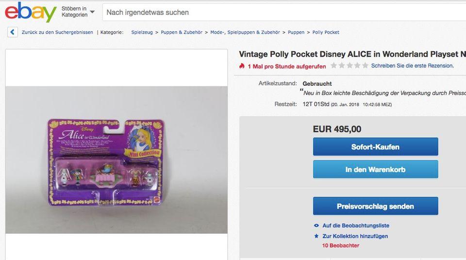 Polly Pocket auf ebay