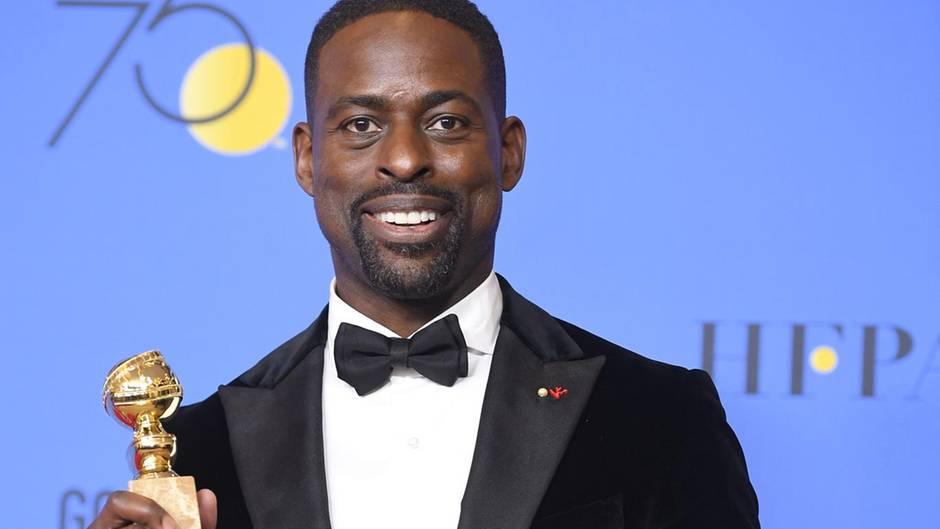 Sterling K. Brown bei den Golden Globes 2018