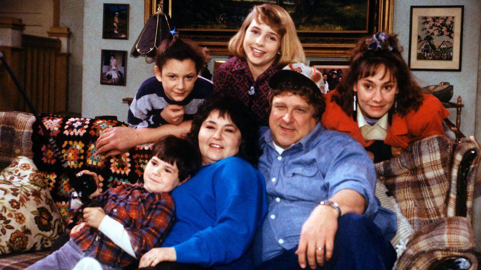 Roseanne Familienfoto