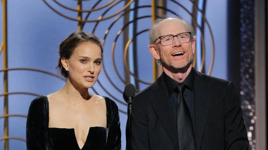 Natalie Portman und Ron Howard