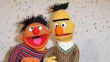 Ernie und Bert aus der Sesamstraße