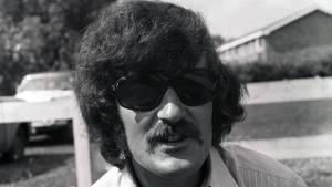 Porträt von Moody-Blues-Musiker Ray Thomas