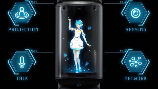 Azuma Hikari erfüllt alle Funktionen eines digitalen Assistenten.