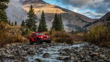 Neuseeland - Robuster Geselle für eine raue Landschaft: der neue Jeep JL Wrangler Rubicon.