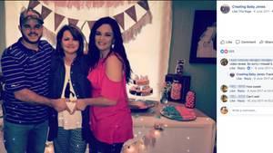 Cody und Kayla (r.) Jones und Codys Mutter Patty Resecker