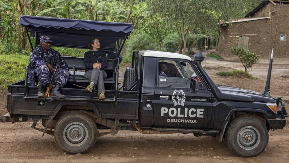 NEON-Chefredakteurin Ruth Fend in Uganda