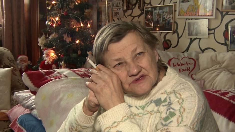 """Familienoberhaupt Karin Ritter wünscht sich """"besinnliche"""" Weihnachten mit ihren Kindern."""