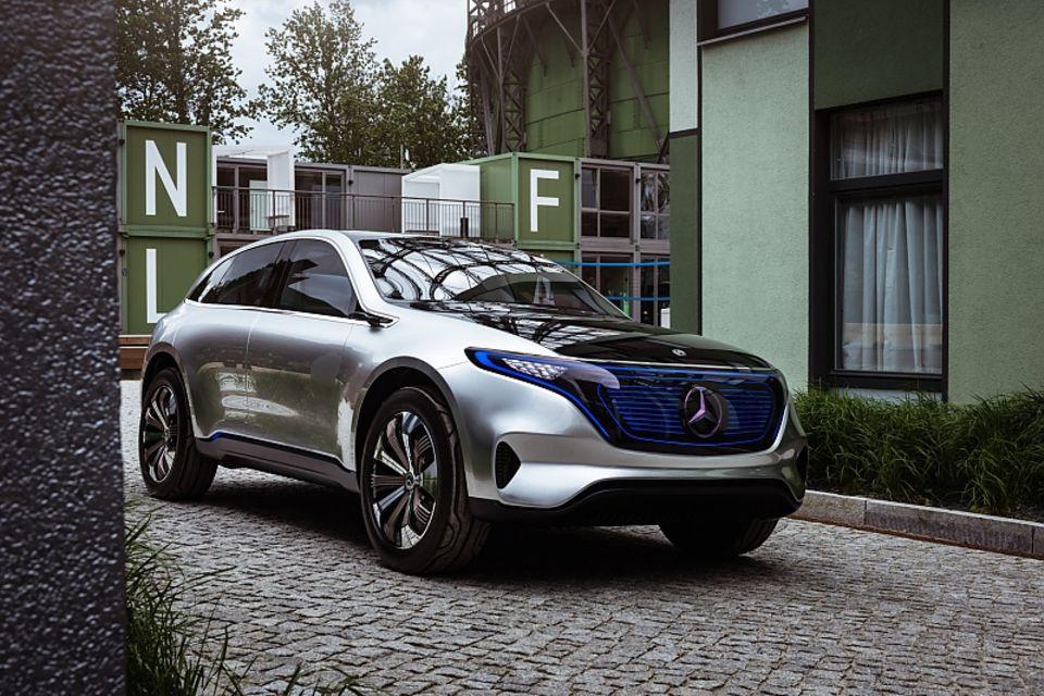 Mercedes Concept EQ