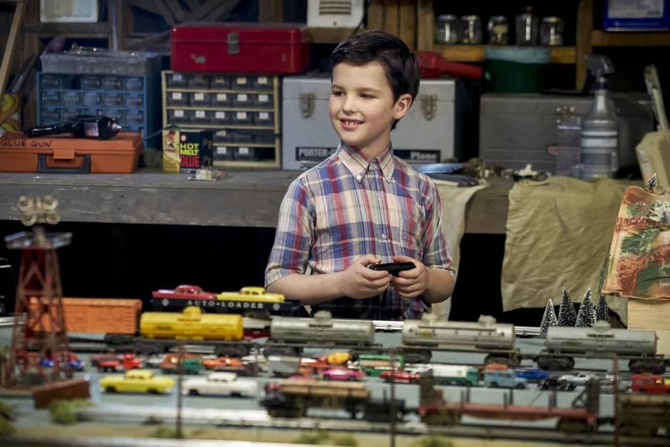 "Iain Armitage in ""Young Sheldon"""