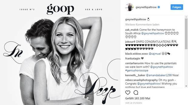 """""""Goop""""-Zeitschrift"""