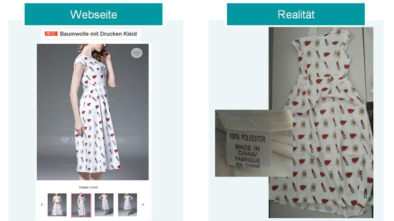Kleider Aus Asia Shops So Sehen Die Traumkleider Wirklich Aus Stern De