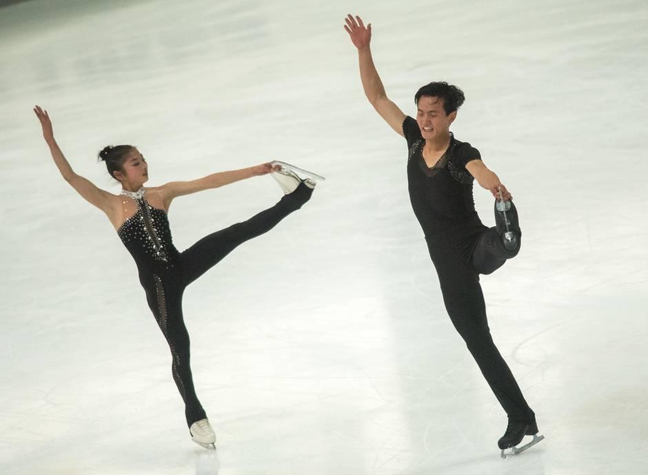 Olympia: Paarläufer aus Nordkorea hoffen auf Olympia-Start