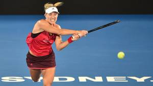 Angelique Kerber im Match gegen Venus Williams