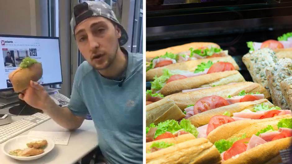 Morningcoach Ben: Mittagessen am Arbeitsplatz: Das sind gesunde Alternativen vom Bäcker