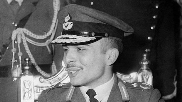 Der jordanische König Hussein I. (Archivbild)