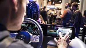 Bediensystem Mercedes A Klasse 2018