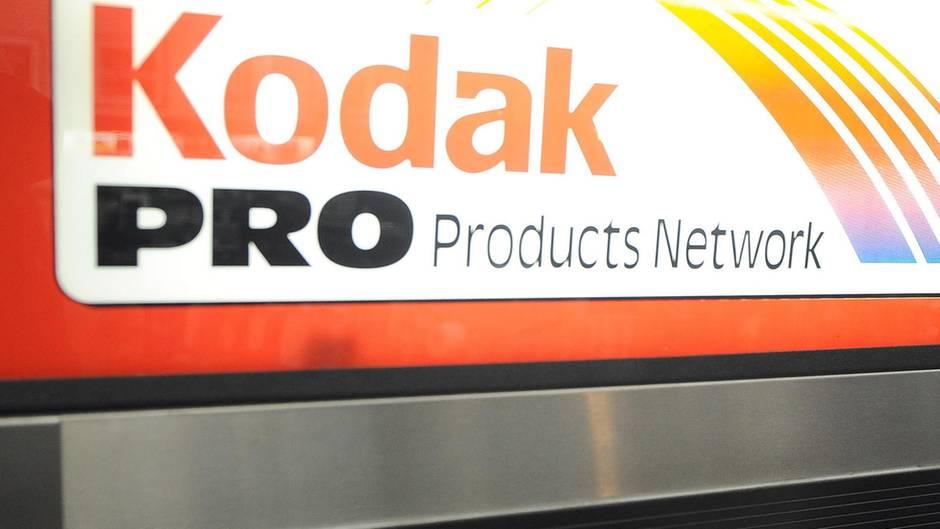 Kodak-Filme in einem Kühlschrank