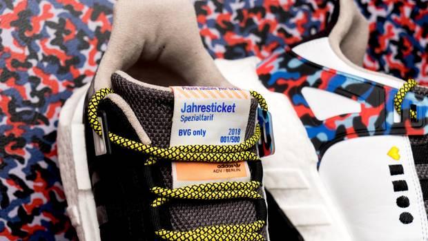 Die Berliner Verkehrsbetriebe machen jetzt Sneaker - und die tragen ein besonderes Detail