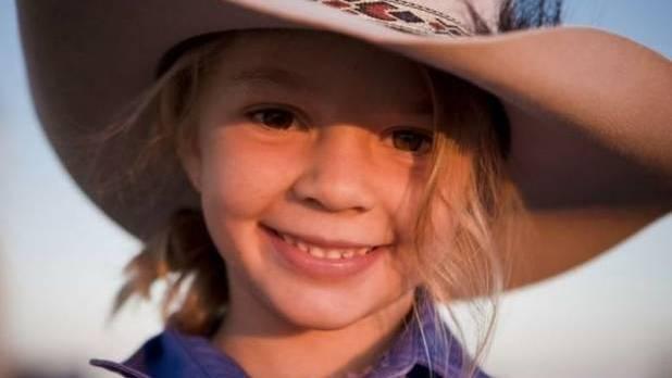 Amy Everett, genannt Dolly, als Kindermodel für eine australische Hutfirma
