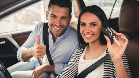 Ein neuer Wagen macht mehr Spaß, wenn man sich beim Kauf nicht ruiniert hat.