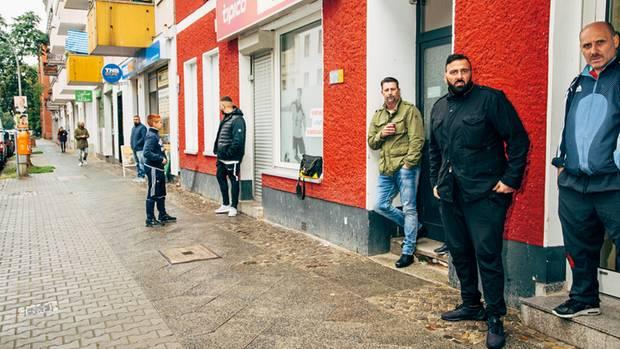 Im echten Leben: Rumhängen im Viertel um die Spandauer Lynarstraße