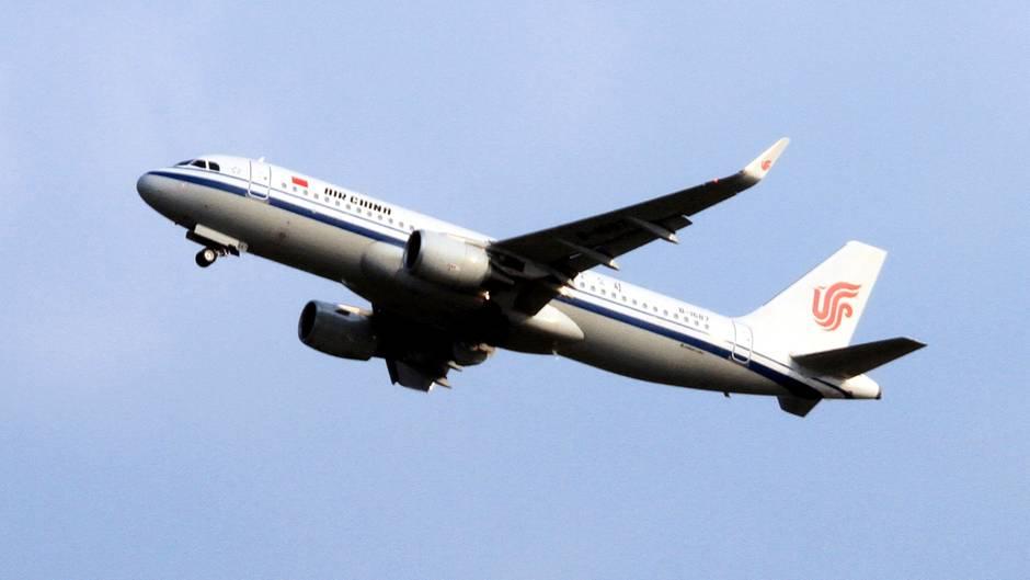 Airbus 320 der Fluggesellschaft Air China