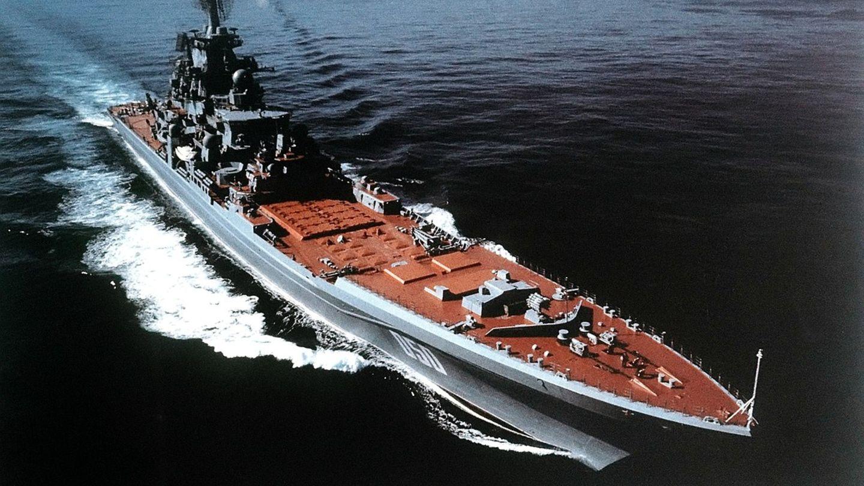 Raketen gegen Flugzeuge - dieser Strategie folgen Russlands Schlachtkreuzer.