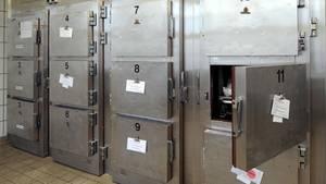 Ein Leichen-Kühlraum (Symbolbild)